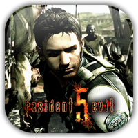 Resident Evil 5 Game Icon 2 by Wolfangraul