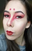 Kitsune-Inspired Makeup Look by ThinLizzy90