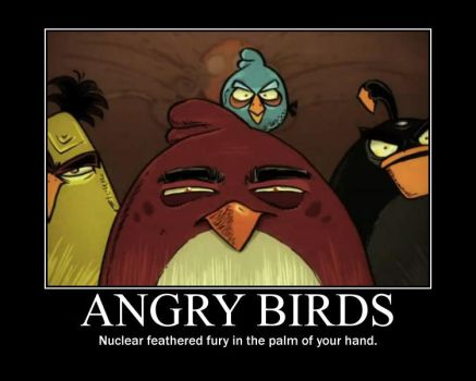 Angry Birds Demotivational by blackdeath2000