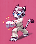 Karate tiger by GantzAistar