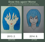 Before And After - Draw this Again! Meme 2 by edinaholmes