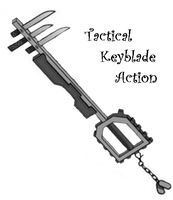 Metal Gear Solid Keyblade by DrewWilsfordHQ