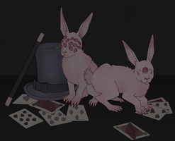 Bunnies by Traumagician