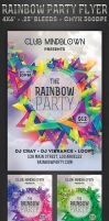 Rainbow Party - Flyer by ivelt