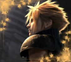 Cloud final fantasy VII by Burnwell88