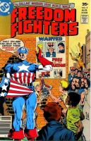 Captain America vs. the Freedom Fighters (part 2) by Gwhitmore