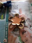 Tomoe Mami props - flower shaped hair clip by Sweetfairy508