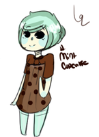Mint cupcake girl adopt!CLOSED by hanecco