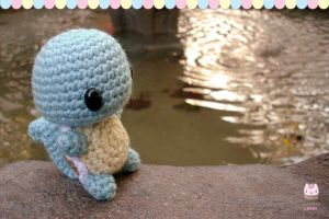 Photo - Chibi Squirtle near the water by PurringCakes