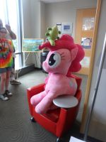 Trotcon - Giant Pinkie Plush by crackle486