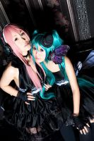 VOCALOIDs - Forbidden love by kumakuku