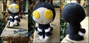 Hunter Plushie by Martiverse