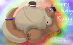 Happy BDay Kangy ! by fatty-piggy