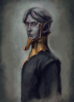 Sotha Sil, the wizard-mystic by RisingMonster