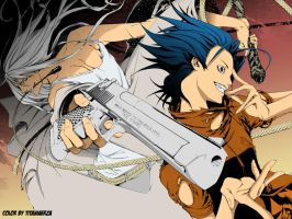 Air gear Lind by titaniaerza
