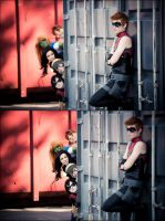 Young justice - Spying.. or something by FlyingGreyson