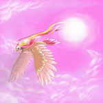 Pink Clouds :Pidgeot: by Nanasschevelu