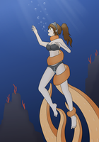 Isolde in the deep by Mallevollo by Shaded-Seraphim