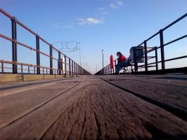 Pier Perspective by darkhoodness