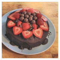 Chocolate Cake Finished by Aconitum-Napellus