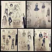 Figure lookbook by meisan