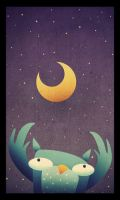 The Moon Tosser by mutatedMILKFISH
