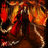 Flaming Runway by saiyuki-fangirl13