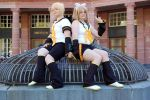 Rin and Len Kagamine by CaptainChrisRedfield
