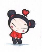 Pucca. by Mitithic