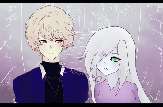 Ren and Copy by Squira130