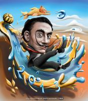 Salvador Dali by IsaacJLitman