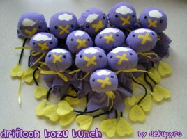 Drifloon Bozu Bunch by DekuPyro