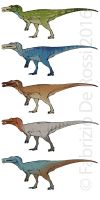 Colour concepts - Baryonyx walkeri by FabrizioDeRossi