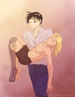 He's So Still . . . FMA- Whiteout Fic Illustration by x-RainFlame-x