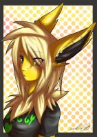 Jolteon Girl by Tartii