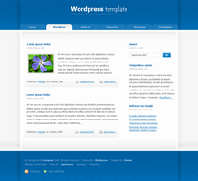 Wordpress Template 1 by owsian by webgraphix