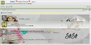 sel in my MSN by sasa-92