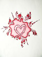 Love Splatter by GrotesqueDarling13