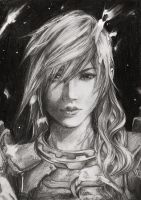 Lightning final fantasy by Seppyo