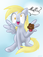Derpy - Muffin by Leibi97