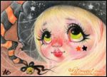 The cutest witch by Katerina-Art