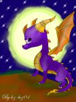 Spyro plus speedpaint by loz-boz01