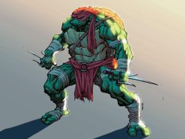 Raph quickpaint by Ross-A-Campbell
