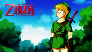 the legend of zelda- anime by salvamakoto
