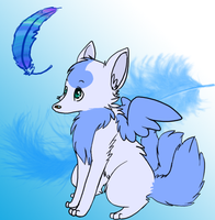 Light as a Feather by Kerixai
