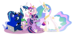 The Princesses Will Be With You Shortly by dm29