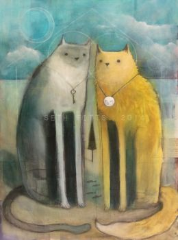 Two Cats, Together by SethFitts