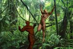 Jungle Girl Attack by plinius