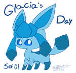 Glaceon's Day 2015 by Occsters
