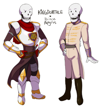 KT - Prince Papyrus by Atlas-White
